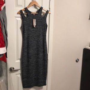 New philosophy grey dress